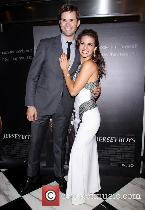 Andrew Rannells and Renee Marino 2