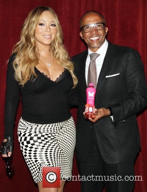 Mariah Carey and Creative Director Kevin Liles 2