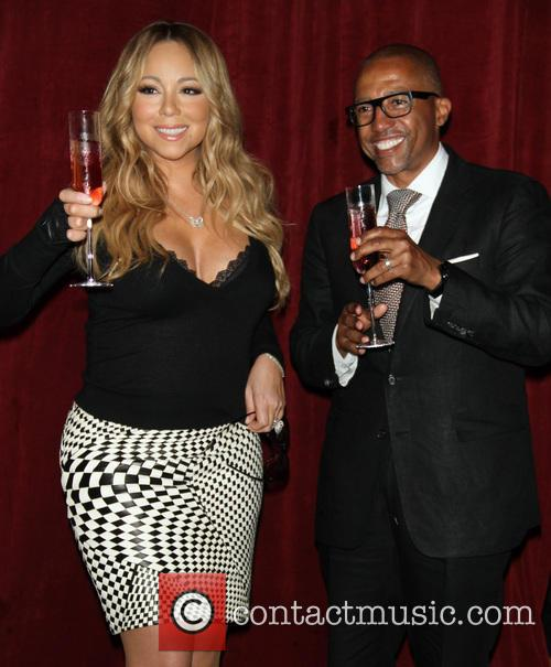 Mariah Carey and Creative Director Kevin Liles 3
