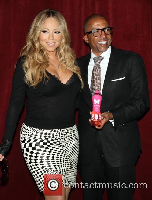 Mariah Carey and Creative Director Kevin Liles 7