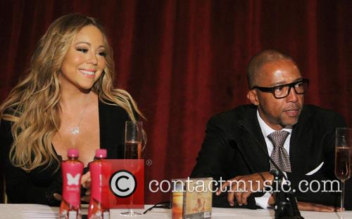 Mariah Carey and Creative Director Kevin Liles 8