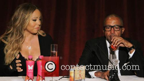 Mariah Carey and Creative Director Kevin Liles 9