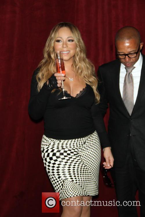 Mariah Carey and Creative Director Kevin Liles 10