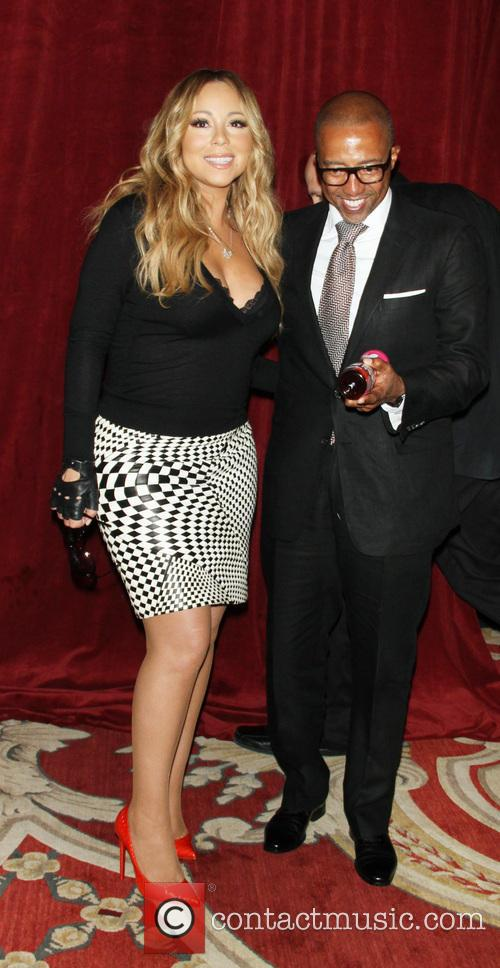 Mariah Carey and creative director Kevin Liles 11