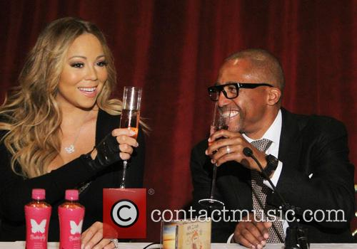 Mariah Carey and creative director Kevin Liles 1