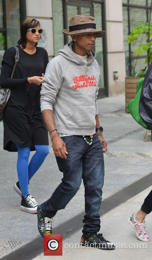 Pharrell and Helen Lasichanh 2