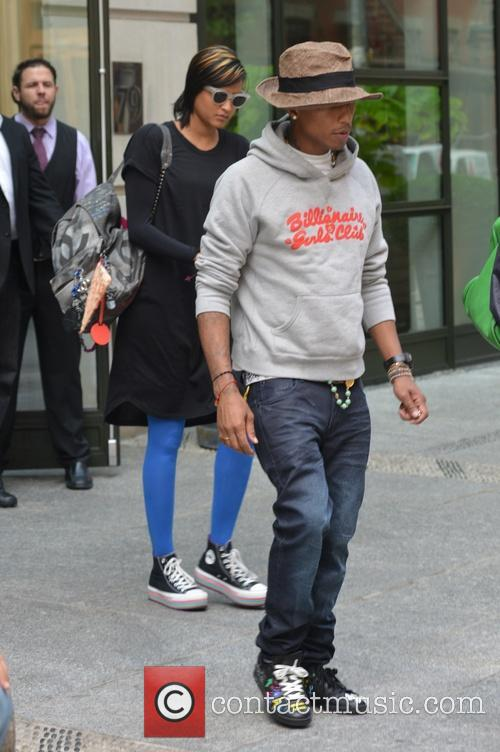 Pharrell and Helen Lasichanh 6