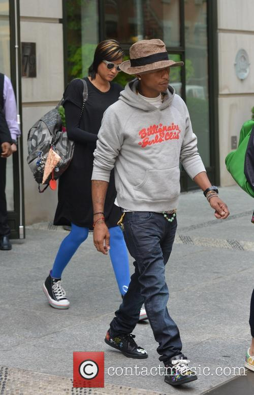Pharrell and Helen Lasichanh 8