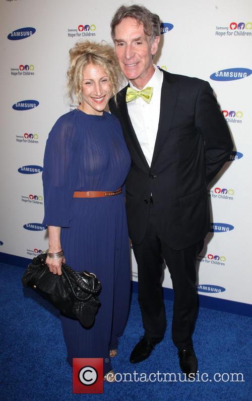 Blair Tindall and Bill Nye