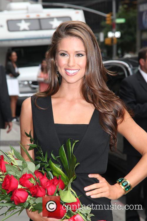 Nia Sanchez, Miss U.s.a. and David Letterman 4