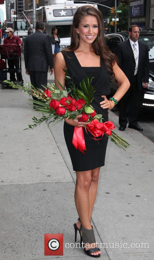 Nia Sanchez, Miss U.s.a. and David Letterman 8