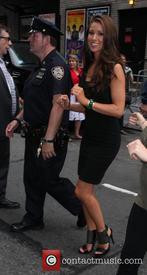 Nia Sanchez, Miss U.s.a. and David Letterman 11