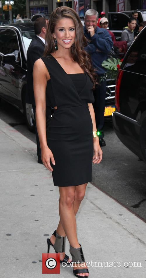 Nia Sanchez, Miss U.S.A. and David Letterman 14