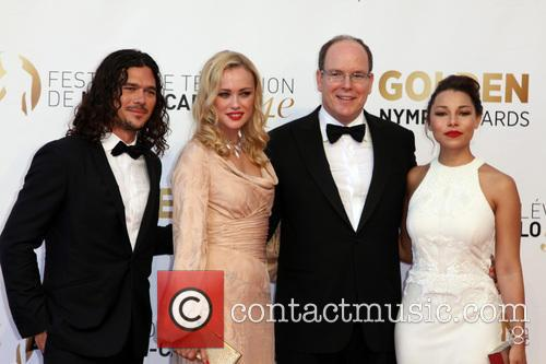 Luke Arnold, Hannah New, Sas Prince Albert Ii Of Monaco, Jessica Parker Kennedy-  Fee Liable Image, Copyright © Atp Carpico Thierry