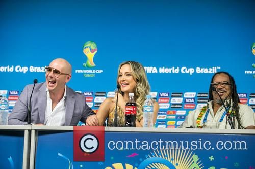 Pitbull, Claudia Leitte and Joao Jorge Rodrigues 1