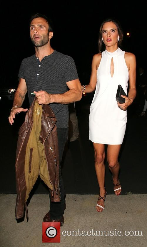 Alessandra Ambrosio Jamie Mazur on a night out...