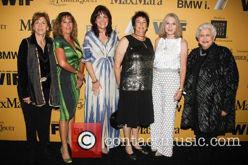 Clare Baren, Hillary Bibicoff, Chevonne O'shaugnessy, Hollace Davids, Ellen Olivier and Marion Rosenberg 1