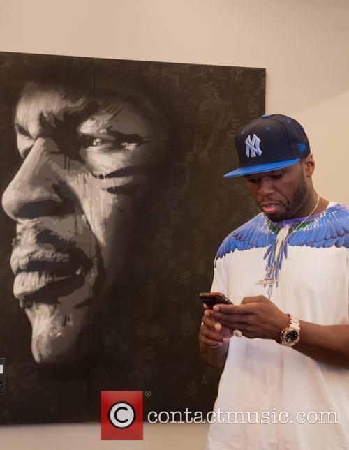 50 Cent and Curtis James Jackson Iii 1