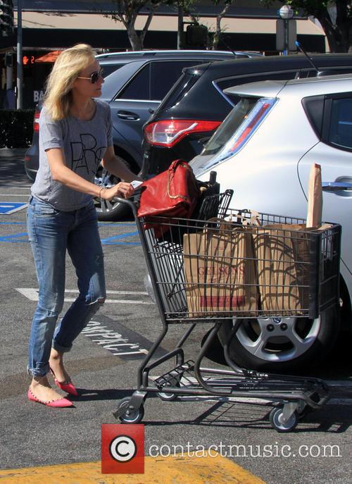 Diane Kruger Shopping At Gelson's Supermarket