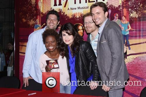 Tom Kitt, Lachanze, Idina Menzel, Anthony Rapp and James Snyder 1