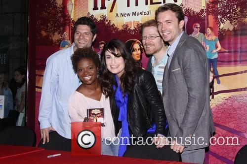 Tom Kitt, Lachanze, Idina Menzel, Anthony Rapp and James Snyder 4