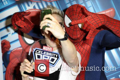 'Marvel Celebrity Dad of the Year 2014'