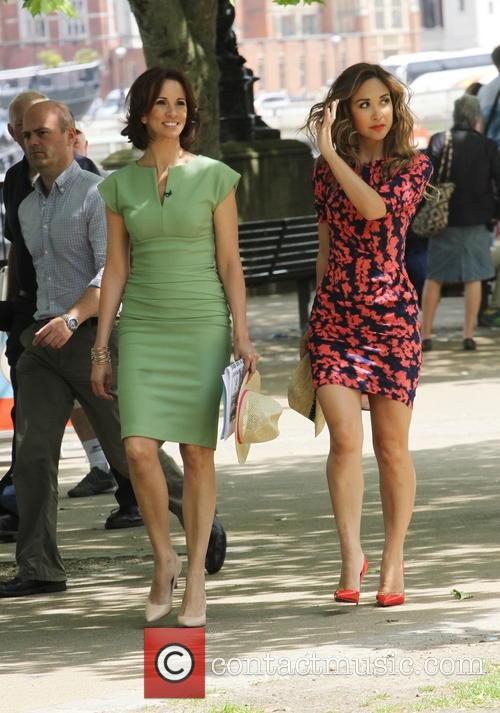 Presenters of 'Loose Women' On Outside Broadcast