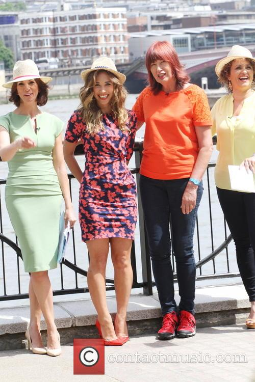 Andrea Mclean, Myleene Klass, Janet Street-porter and Nadia Sawalha 5