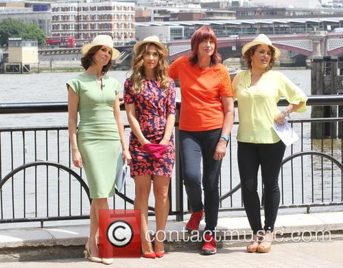 Andrea Mclean, Myleene Klass, Janet Street-porter and Nadia Sawalha 6