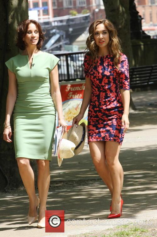 Myleene Klass and Andrea Mcclean 10