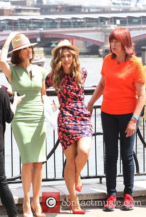 Myleene Klass, Andrea Mclean and Janet Street-porter 2