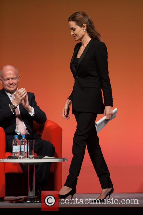Angelina Jolie, William Hague