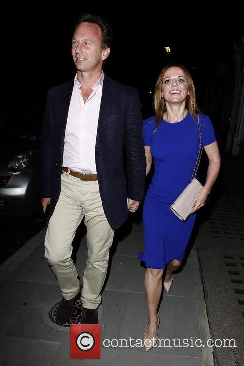 Geri Halliwell and Christian Horner 7