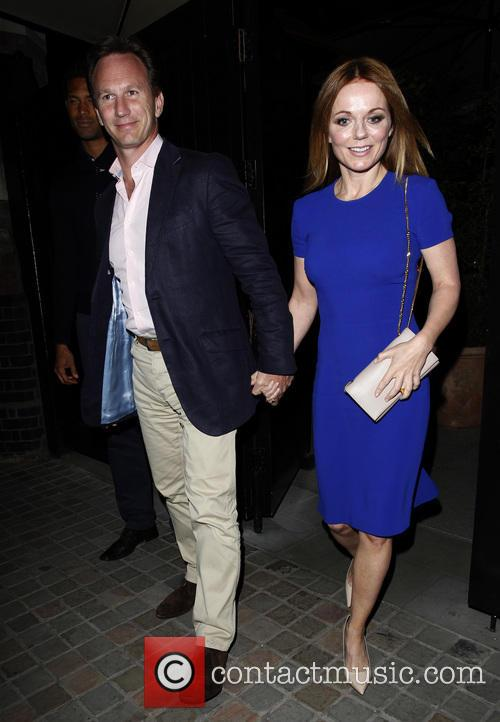 Geri Halliwell and Christian Horner 8