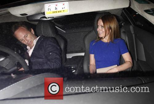 Geri Halliwell and Christian Horner 1