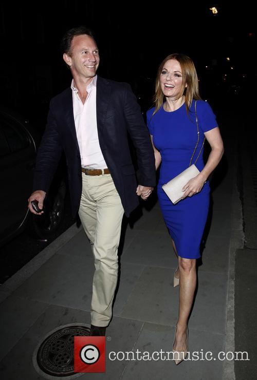 Geri Halliwell and Christian Horner 11