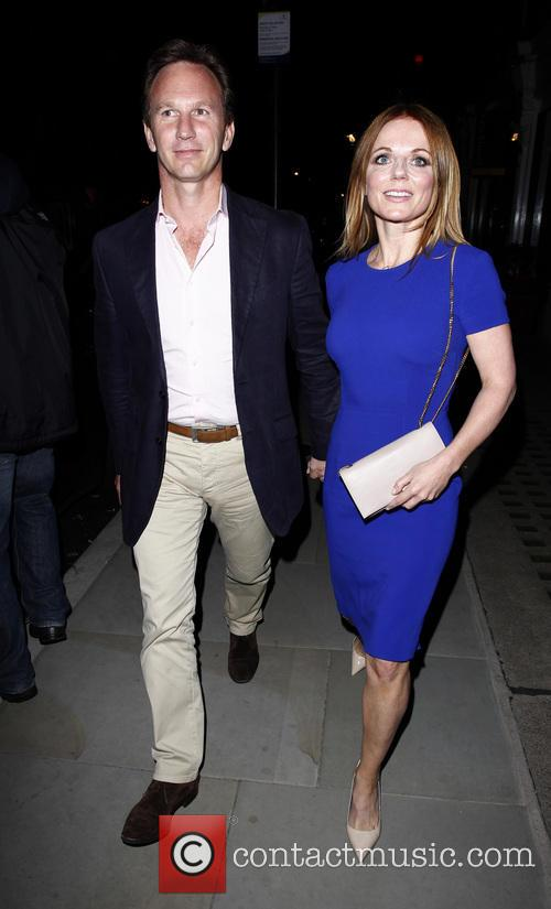 Geri Halliwell and Christian Horner 32