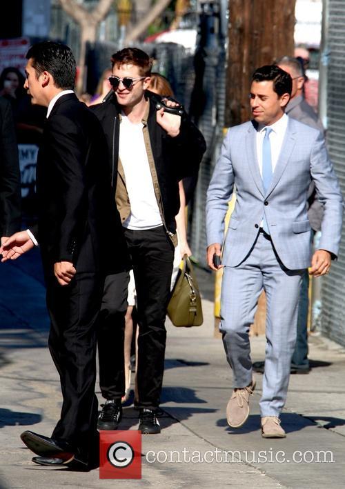 Robert Pattinson Arriving For Jimmy Kimmel Live!