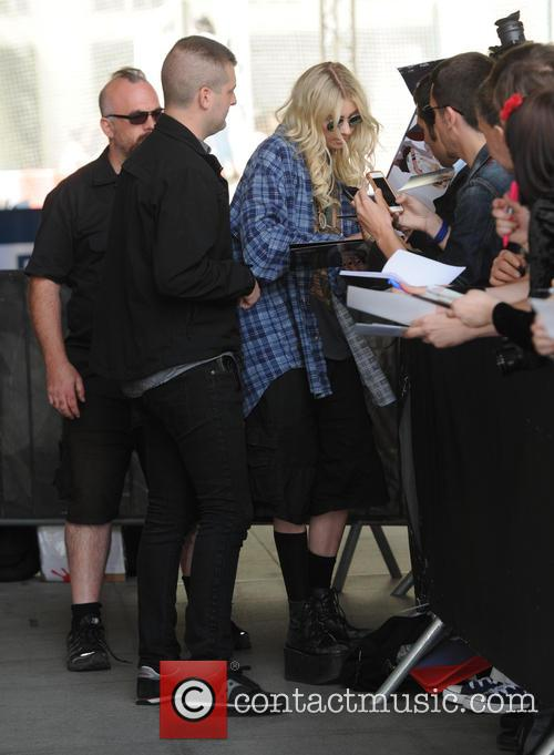 Taylor Momsen seen out in London