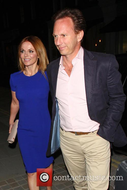 Geri Halliwell at the Chiltern Firehouse