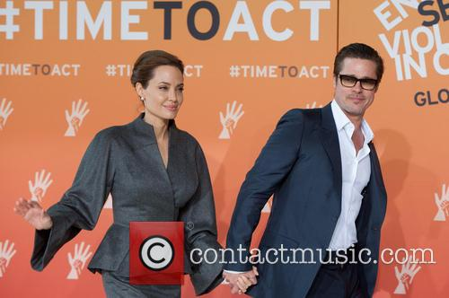 Angelina Jolie and Brad Pitt 17