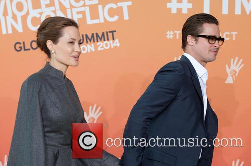 Brad Pitt and Angelina Jolie 4