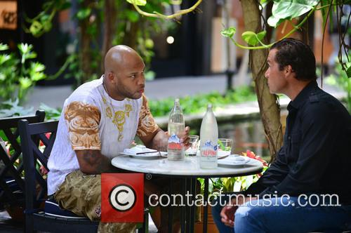 Flo Rida and Alfred Culbreth spotted dining at...