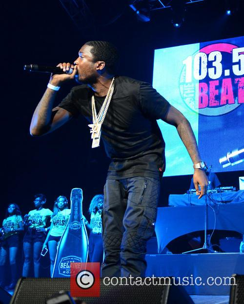 Meek Mill performs at The Beat Down 2014