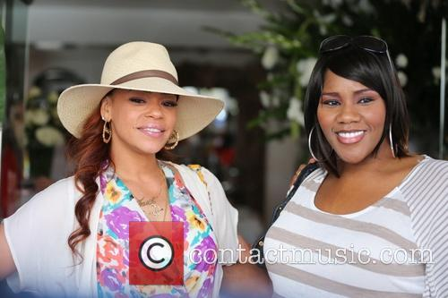 Faith Evans and Kelly Price 6