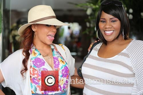 Faith Evans and Kelly Price 9