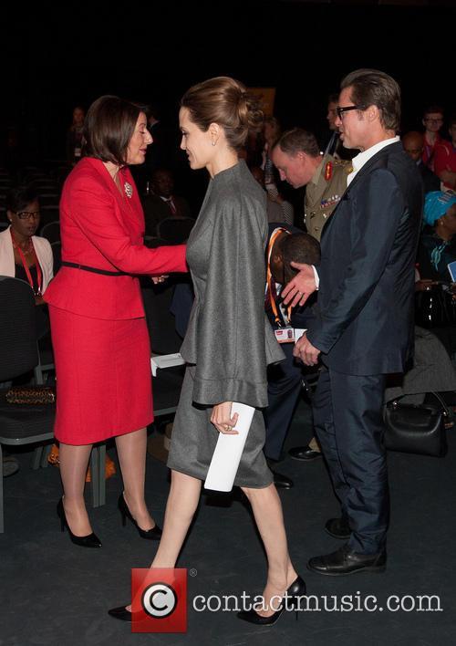 Angelina Jolie and Brad Pitt 19