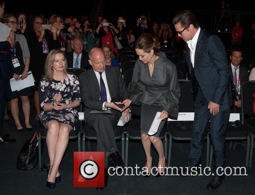 Ffion Jenkins, William Hague, Angelina Jolie, Brad Pitt