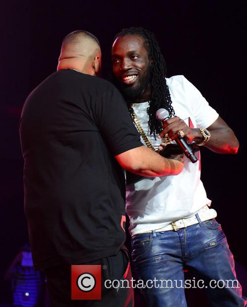 Mavado and DJ Khaled perform at 'The Beat...