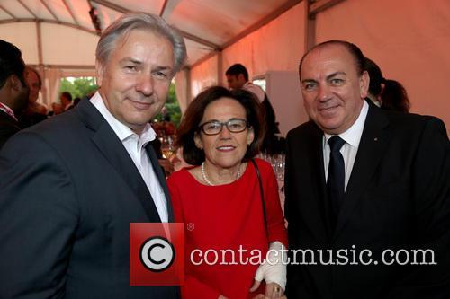 Celebration, Klaus Wowereit, Margit Conrad, Dieter Weber